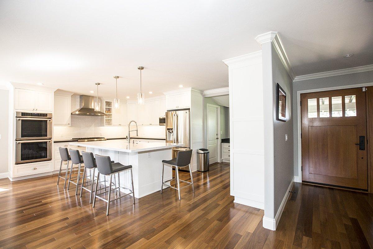 Remmington - hardwood floors and open kitchen plan
