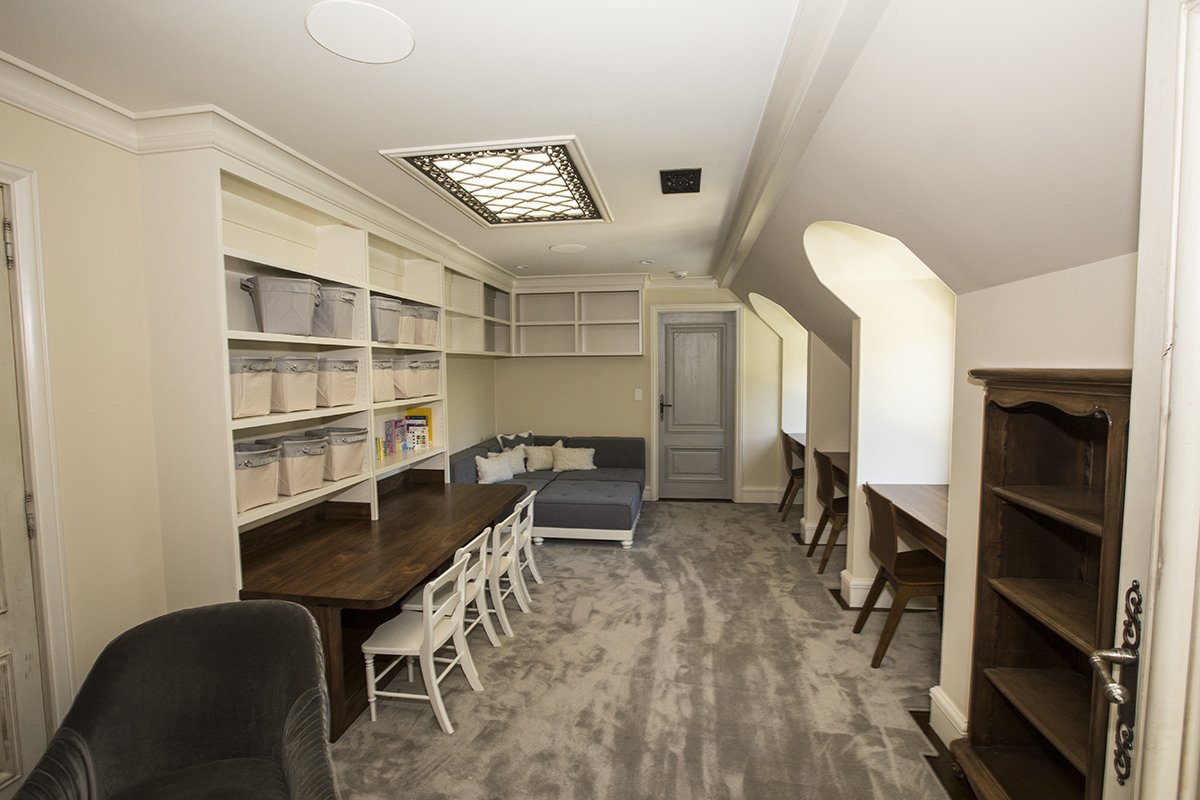 Atherton - by Mission City - custom light coves and cabinets for attic room