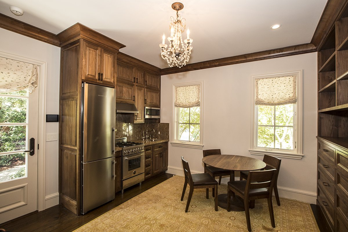 Atherton - by Mission City - small, elegant guesthouse kitchen