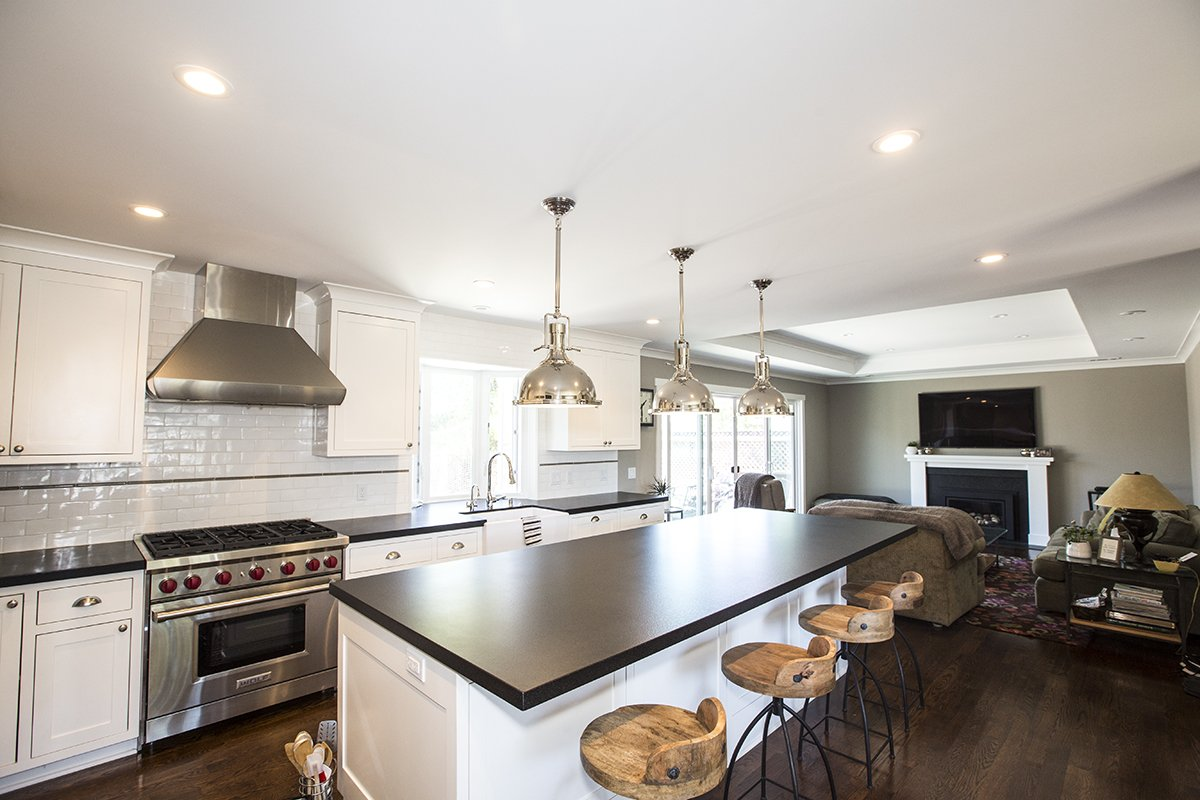 Cabrian Park - custom cabinets and countertops